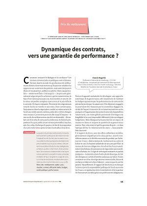 Dynamique des contrats, vers une garantie de performance ?