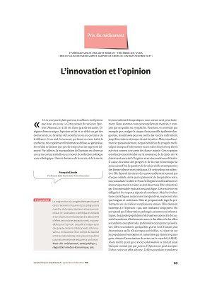 L'innovation et l'opinion