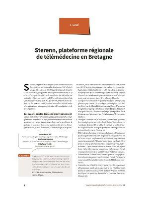 Sterenn, plateforme régionale de télémédecine en Bretagne