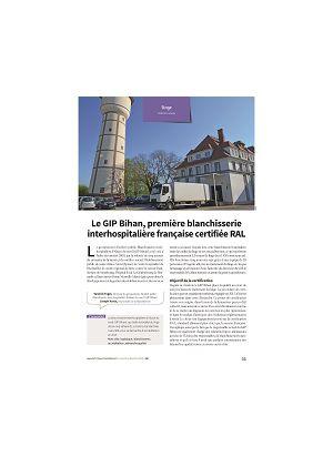 Le GIP Bihan, première blanchisserie interhospitalière française certifiée RAL