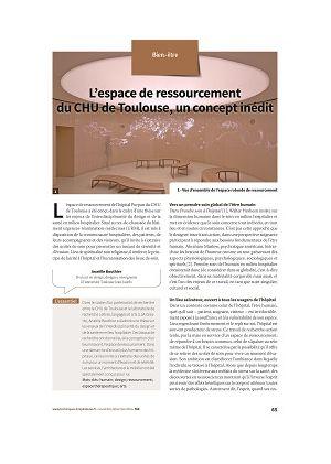 L'espace de ressourcement du CHU de Toulouse, un concept inédit