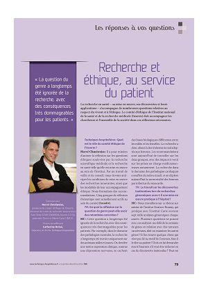 Les réponses à vos questions - Hervé Chneiweiss - Recherche et éthique, au service du patient