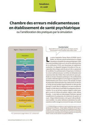 Chambre des erreurs médicamenteuses en établissement de santé psychiatrique, ou l'amélioration des pratiques par la simulation