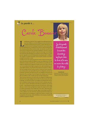 La parole à Carole Bonnier