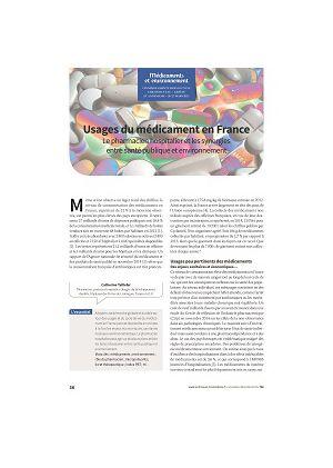 Usages du médicament en France : le pharmacien hospitalier et les synergies entre santé publique et environnement
