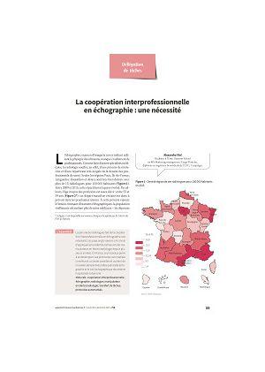 La coopération interprofessionnelle en échographie : une nécessité