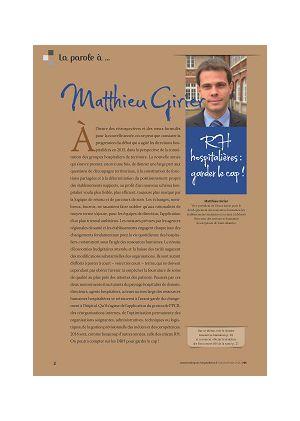 [accès libre] La parole à Matthieu Girier