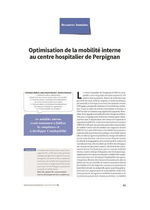 Optimisation de la mobilité interne au centre hospitalier de Perpignan