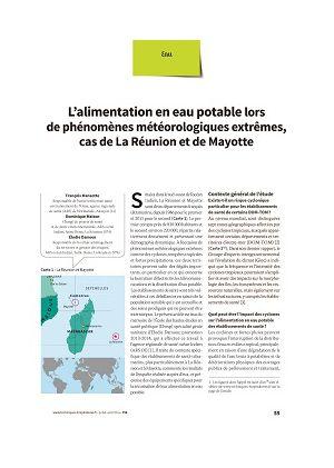 L'alimentation en eau potable lors de phénomènes météorologiques extrêmes, cas de La Réunion et de Mayotte