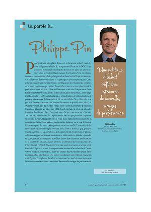 La parole à Philippe Pin - Une politique d'achat réfléchie est source de nouvelles marges de performance