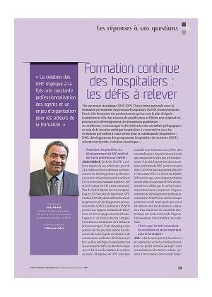 [accès libre] Les réponses à vos questions - Formation continue des hospitaliers : les défis à relever