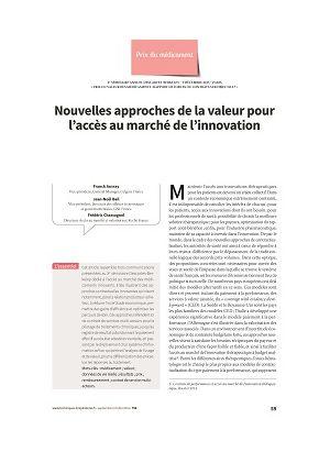 Nouvelles approches de valeur pour l'accès au marché de l'innovation