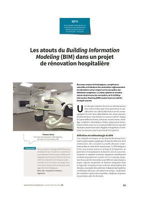 Les atouts du Building Information Modeling (BIM) dans un projet de rénovation hospitalière