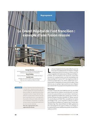 Le Grand Hôpital de l'est francilien : exemple d'une fusion réussie