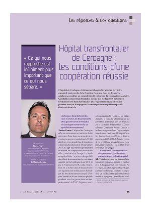 Les réponses à vos questions - Hôpital transfrontalier de Cerdagne : les conditions d'une coopération réussie