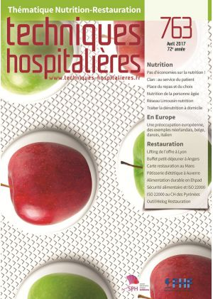 N°763 avril 2017 - Nutrition-Restauration