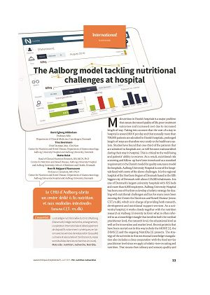 * The Aalborg model tackling nutritional challenges at hospital