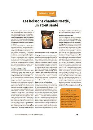 [Publirédactionnel] Les boissons chaudes Nestlé, un atout santé
