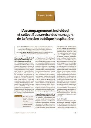 L'accompagnement individuel et collectif au service des managers de la fonction publique hospitalière