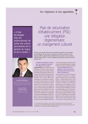 Les réponses à vos questions - Plan de sécurisation d'établissement (PSE) : une obligation réglementaire, un changement culturel