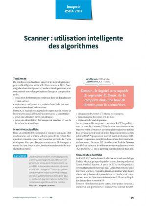 Scanner : utilisation intelligente des algorithmes
