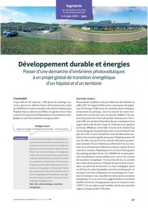 Développement durable et énergies