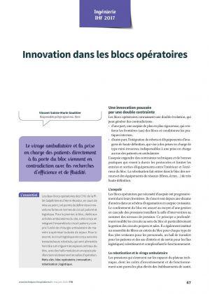 Innovation dans les blocs opératoires