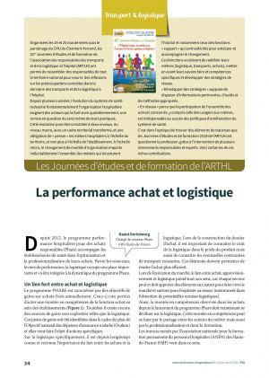 La performance achat et logistique