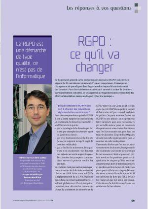 [article en accès libre] La parole à Thierry Beaudet, Président de la Mutualité française
