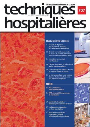 Revue Techniques hospitalières N°707