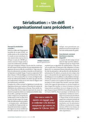 Sérialisation : « Un défi organisationnel sans précédent »