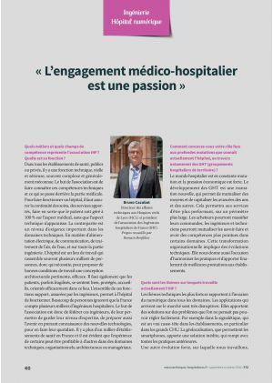 « L'engagement médico-hospitalier est une passion »