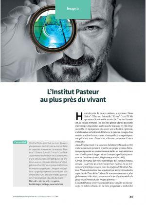 L'Institut Pasteur au plus près du vivant