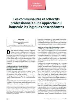 Les communautés et collectifs professionnels : une approche qui bouscule les logiques descendantes