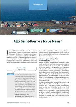 Allô Saint-Pierre ? Ici Le Mans !