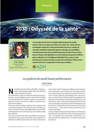 2030 : Odyssée de la santé