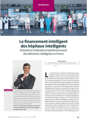 Le financement intelligent des hôpitaux intelligents Potentiel et méthodes d'autofinancement des bâtiments intelligents en France