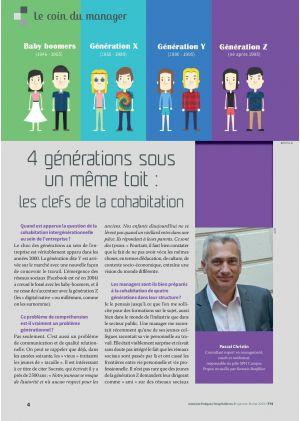 Le coin du manager, Pascal Christin. 4 générations sous un même toit : les clefs de la cohabitation