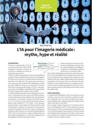 L'IA pour l'imagerie médicale : mythe, hype et réalité
