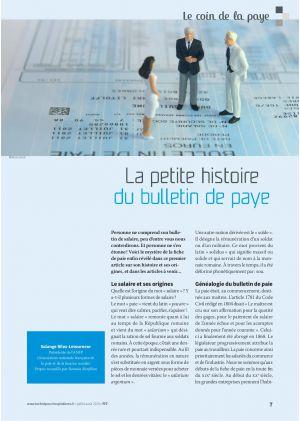 Le coin de la paye - La petite histoire du bulletin de paye