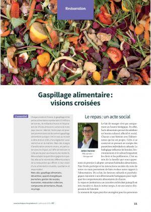 Gaspillage alimentaire : visions croisées