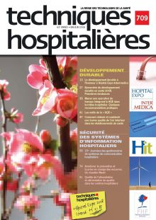 Revue Techniques hospitalières n°709