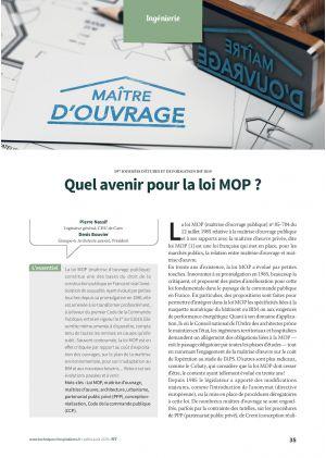Quel avenir pour la loi MOP ?