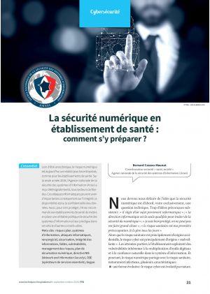 La sécurité numérique en établissement de santé : comment s'y préparer ?