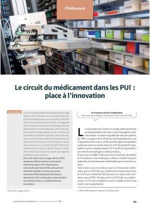 Le circuit du médicament dans les PUI* : place à l'innovation