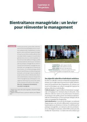 Bientraitance managériale : un levier pour réinventer le management