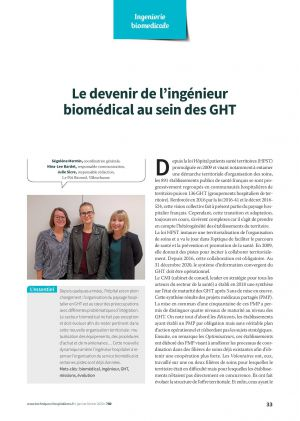 Le devenir de l'ingénieur biomédical au sein des GHT
