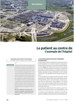 Le patient au centre de L'exemple de l'hôpital