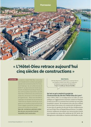 « L'Hôtel-Dieu retrace aujourd'hui cinq siècles de constructions »