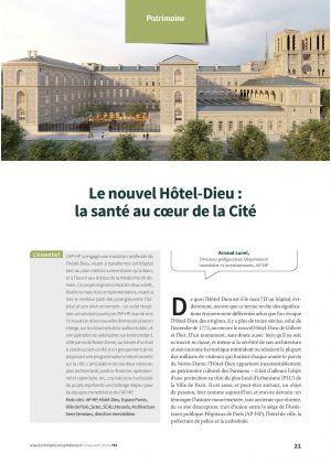 Le nouvel Hôtel-Dieu : la santé au coeur de la Cité